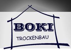 Logo von Boki Trockenbau Berlin - Innenausbau, Renovierung, Dachausbau, Altbau-Sanierung, Rigips, Umbau, abgehängte Decken, Trennwände uvm. - hier klicken, um zur Startseite zu gelangen